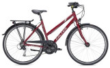 Trekkingbike Falter C 3.0 Trapez rot/silber