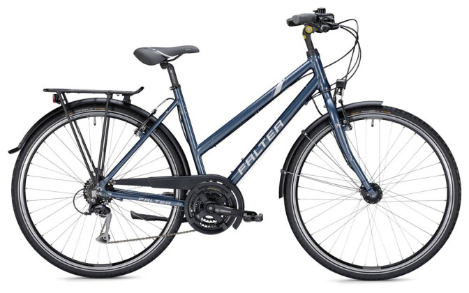 Trekkingbike Falter C 3.0 Trapez blau/silber 2019