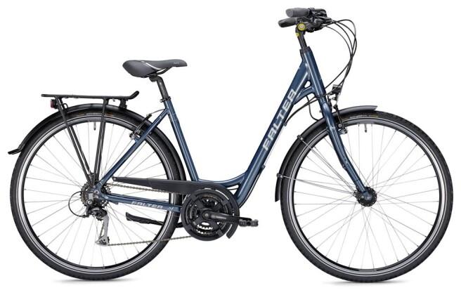 Trekkingbike Falter C 3.0 Wave blau/silber 2019