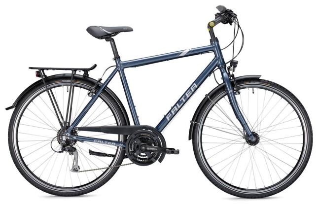 Trekkingbike FALTER C 3.0 Herren blau/silber 2019