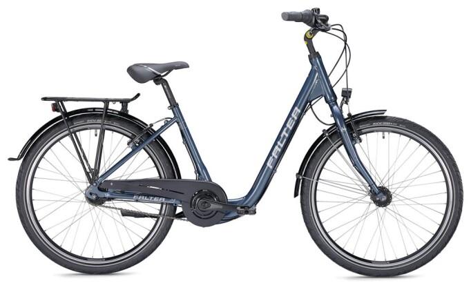 Citybike Falter C 3.0 Comfort blau/silber 2019