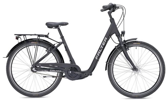 Citybike Falter C 2.0 Comfort schwarz/silber matt 2019
