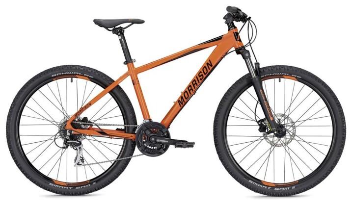 Mountainbike Morrison Comanche Diamant orange/schwarz matt 27,5 2019