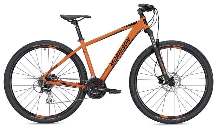 Mountainbike Morrison Comanche Diamant orange/schwarz matt 29 2019