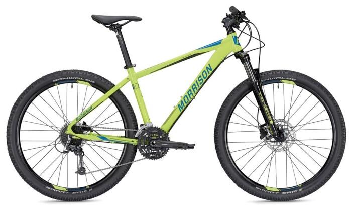 Mountainbike Morrison Blackfoot Diamant grün/blau 27,5 2019
