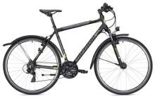 Trekkingbike MORRISON X 1.0 Diamant schwarz/gelb matt