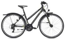 Trekkingbike MORRISON X 1.0 Trapez schwarz/gelb matt