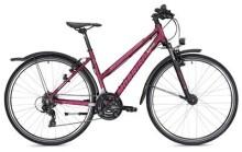 Trekkingbike MORRISON X 1.0 Trapez violett/weiß