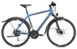 Trekkingbike Morrison X 2.0 Herren blau/gelb Matt