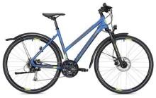 Trekkingbike MORRISON X 2.0 Trapez blau/gelb Matt