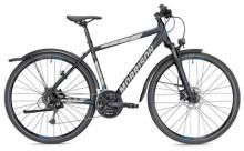 Trekkingbike MORRISON X 3.0 Herren schwarz/petrol matt