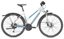 Trekkingbike MORRISON X 3.0 Trapez weiß/petrol