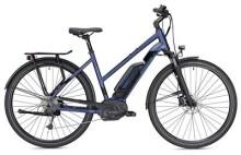 E-Bike MORRISON E 6.0 400 Wh Trapez blau/schwarz matt
