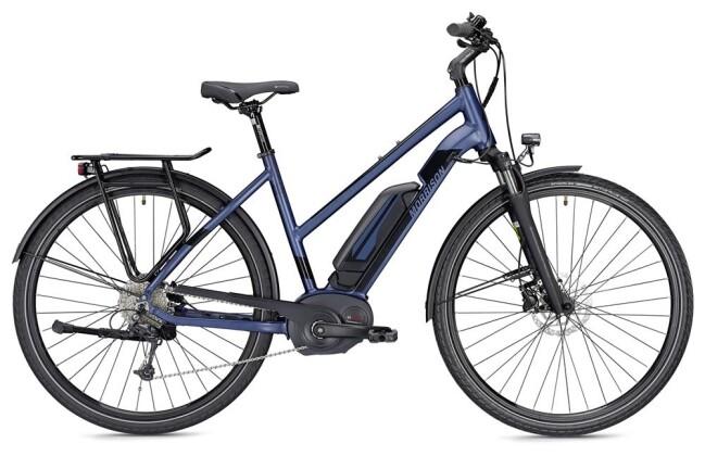E-Bike Morrison E 6.0 400 Wh Trapez blau/schwarz matt 2019