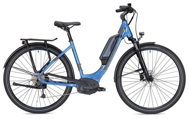E-Bike Morrison E 6.0 400 Wh Wave blau/anthrazit 2019