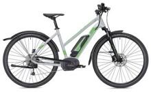E-Bike MORRISON E 6.0 Cross Trapez grau/neongrün