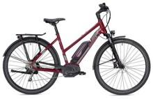 E-Bike Morrison E 7.0 Trapez bordeaux/silber