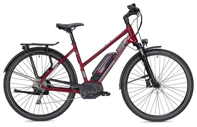 E-Bike Morrison E 7.0 Trapez bordeaux/silber 2019