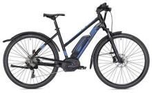 E-Bike MORRISON E 7.0 Cross Trapez schwarz/blau matt