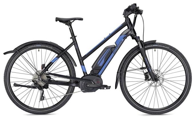 E-Bike Morrison E 7.0 Cross Trapez schwarz/blau matt 2019