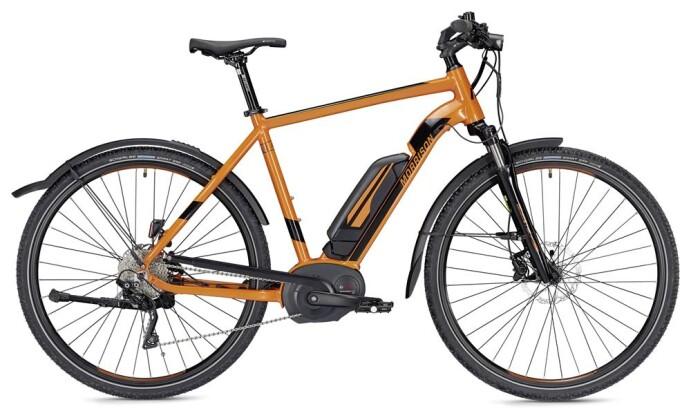 E-Bike Morrison E 7.0 Cross Herren orange/schwarz 2019