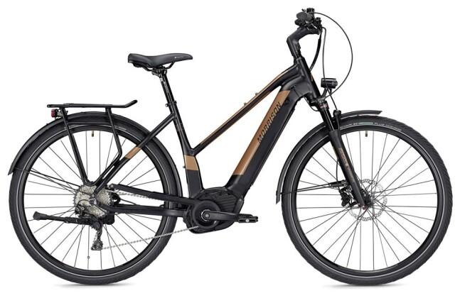 E-Bike Morrison E 10.0 Trapez schwarz/bronze matt 2019