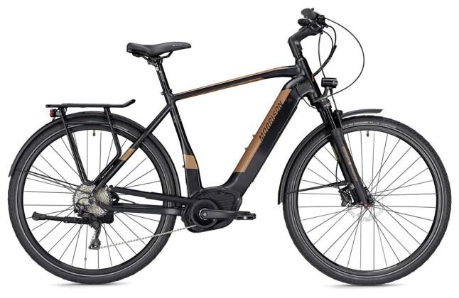 E-Bike Morrison E 10.0 Herren schwarz/bronze matt 2019