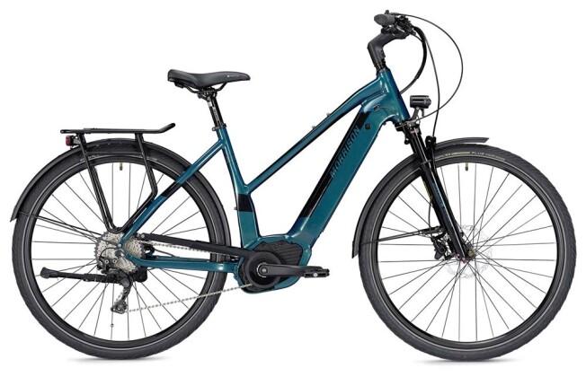 E-Bike Morrison E 10.0 Trapez grün/schwarz 2019