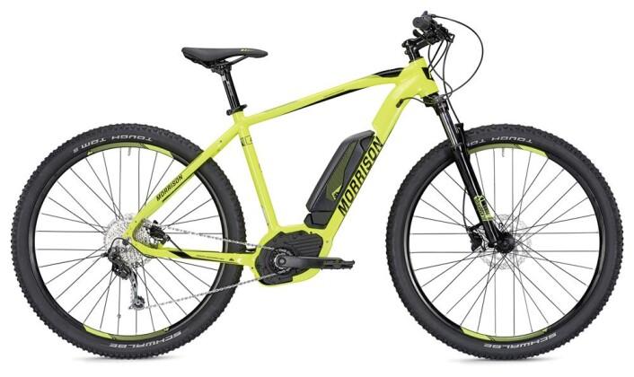 E-Bike Morrison Cree 1 400 Wh neongelb/schwarz 2019