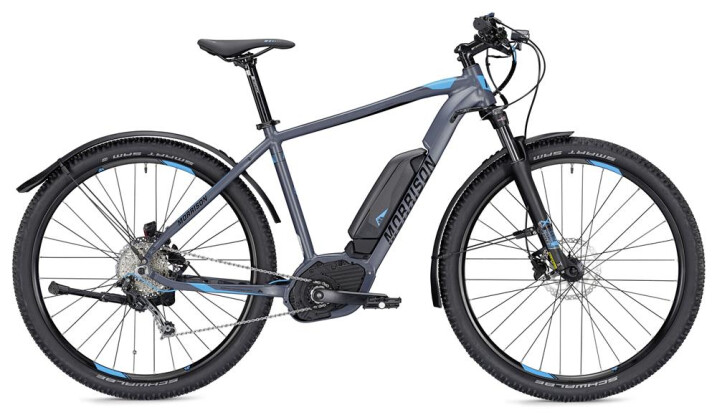 E-Bike Morrison Cree 1 S 400 Wh grau/schwarz matt 2019