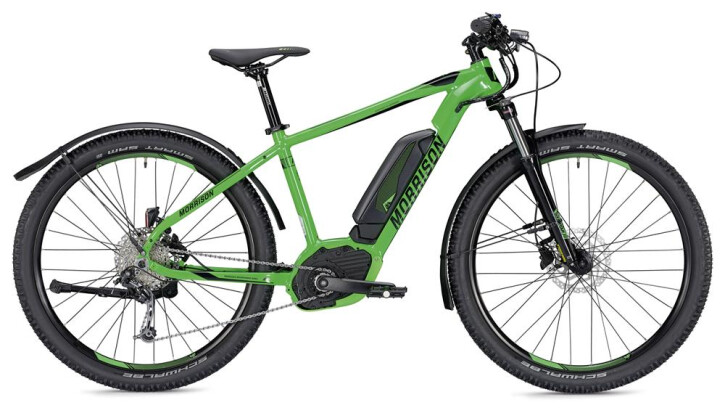 E-Bike Morrison Cree 1 S 400 Wh neongrün/schwarz 2019