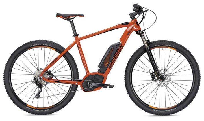 E-Bike Morrison Cree 1.5 orange/schwarz 2019