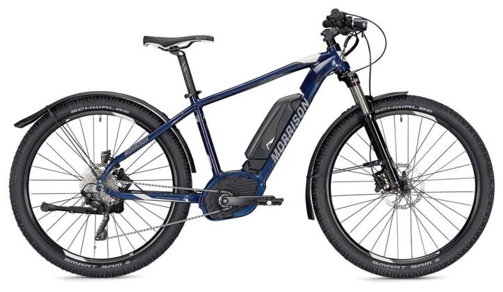 E-Bike Morrison Cree 1.5 S blau/silber 2019
