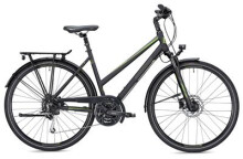 Trekkingbike MORRISON T 4.0 Trapez schwarz/grün matt