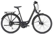 Trekkingbike MORRISON T 4.0 Wave schwarz/grün matt