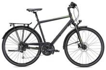 Trekkingbike MORRISON T 4.0 Herren schwarz/grün matt