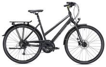 Trekkingbike MORRISON T 3.0 Trapez schwarz/silber matt