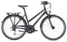 Trekkingbike Morrison T 2.0 Trapez schwarz/silber Matt