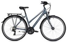 Trekkingbike Morrison T 1.0 Trapez blau/silber matt