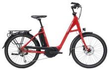 E-Bike Hercules Futura Compact 8 Rot