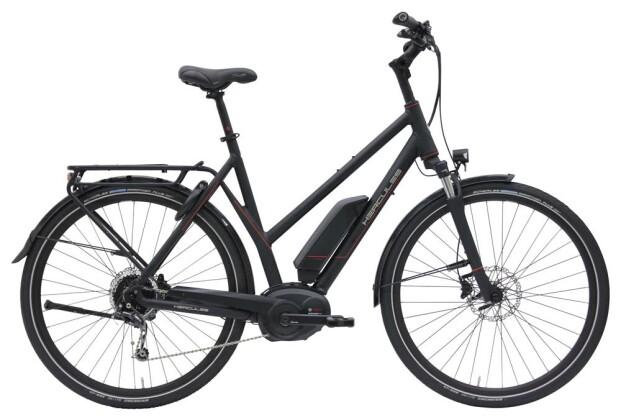E-Bike Hercules E-Imperial 180 S 9 Trapez Schwarz-Matt 2019