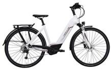 E-Bike Hercules Futura Sport I Zentralrohr Weiß