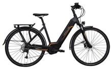 E-Bike Hercules Futura Sport I Zentralrohr Schwarz