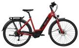 E-Bike Hercules Futura Sport I 8.1 Zentralrohr Rot