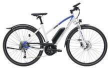 E-Bike Hercules Rob Cross Sport 8.2 Trapez Weiß