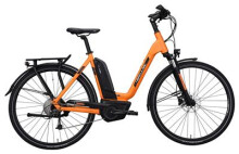 E-Bike Hercules Futura Sport 8.2 Zentralrohr Orange
