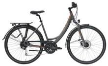 Trekkingbike Hercules Tourer Comp Zentralrohr Grau