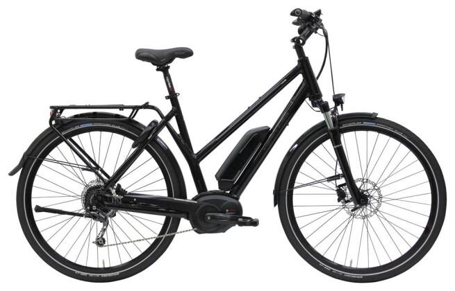 E-Bike Hercules E-Imperial 180 S 9 Diamant Schwarz-Glänzend 2019