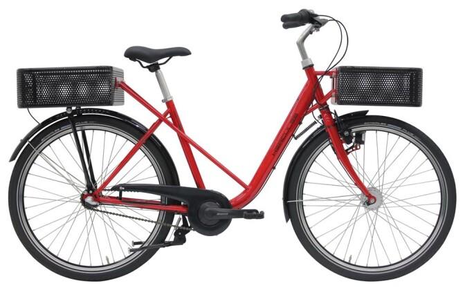 Citybike Hercules Cargo City Rot 2019