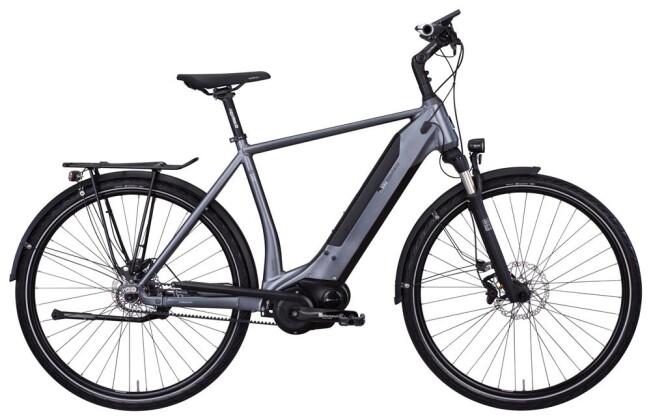 E-Bike e-bike manufaktur 8CHT Connect silber 2019